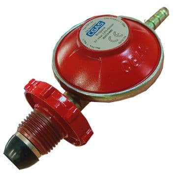 PROPANE GAS REGULATOR with HAND WHEEL 37mbar LOW PRESSURE caravan motorhome